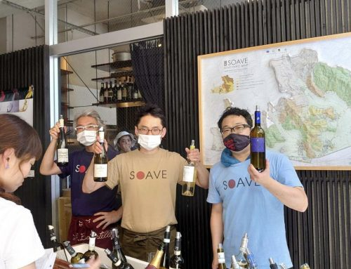 The invincible bond between Soave and Japan